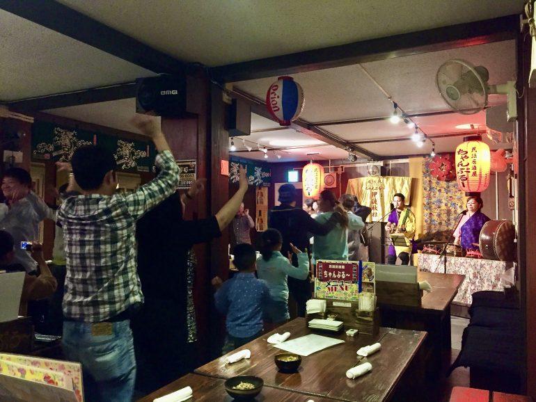 民謡居酒屋 ちゃんぷるー(今帰仁村)